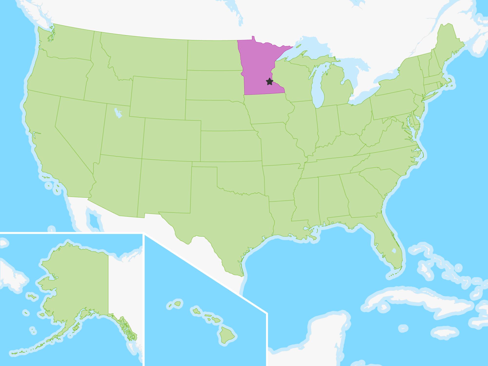 Minnesota | Free Study Maps on us map north dakota, us map wisconsin, atlas map of minnesota, us map michigan, state map of minnesota, us map illinois, us map south dakota, show map of minnesota,